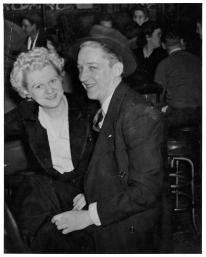 Phil and Hazel Faulkner, ca 1950s