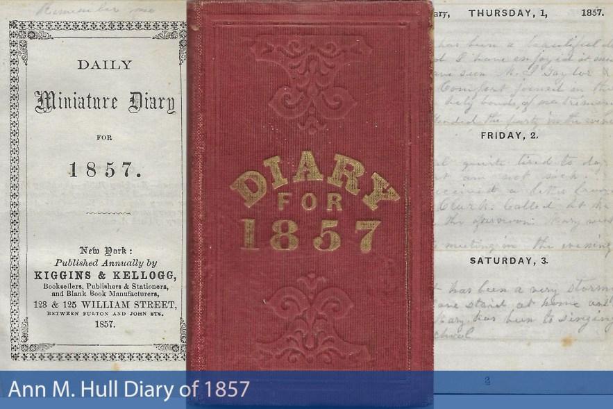Ann M. Hull Diary of 1857