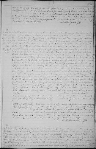 Bond county, Illinois, Deed Record, vol. E., p. 291, Admr of Bonham Harlan, decd, to James D. Hooper, 16 Nov 1839, recorded 5 June 1840