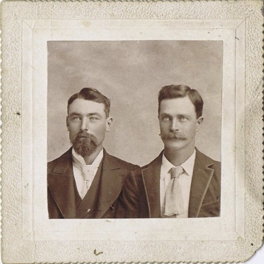 Winifred Hooper family photos - two males