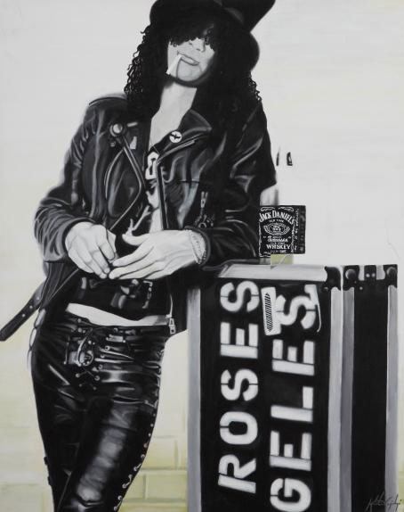 Slash from Guns n Roses and Velvet Revolver