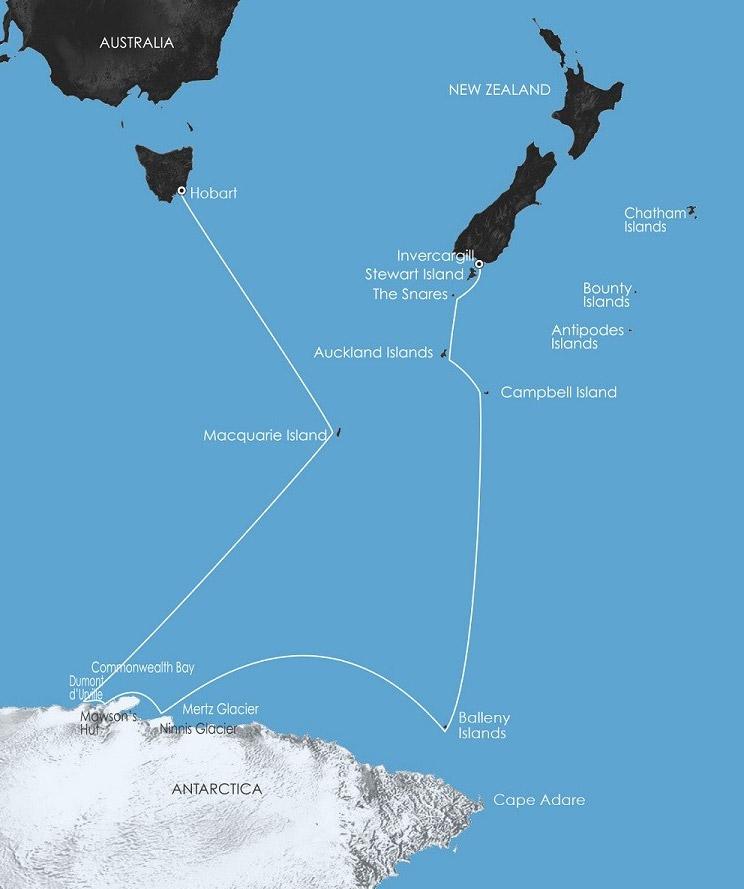 East Antarctica In The Wake Of Mawson Cruise