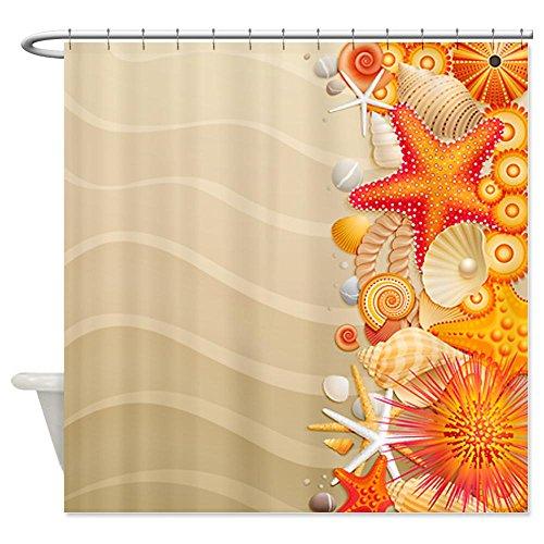 stunning seashell shower curtains