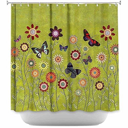 fun bohemian shower curtains