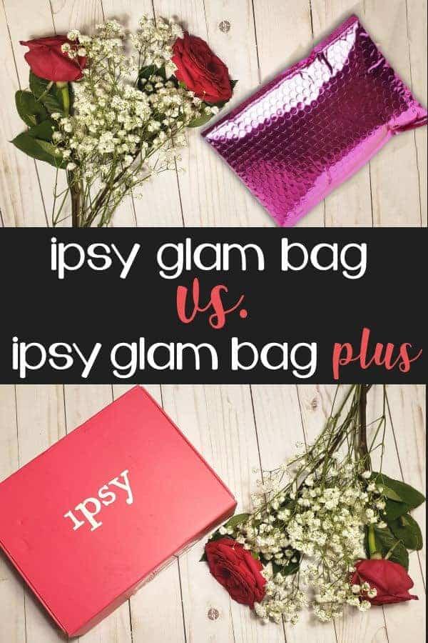 Ipsy Glam Bag vs. Ipsy Glam Bag Plus