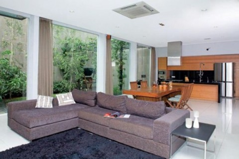Contemporary Modern Home Designs with Wooden Interior and Minimalist Furnishing3