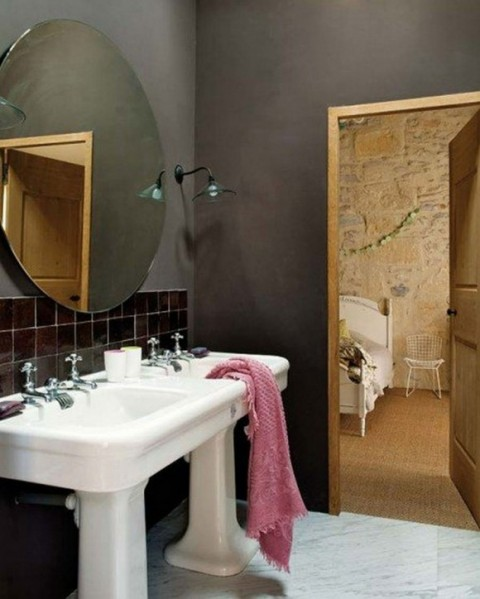 Contemporary Stone House Designs with Vintage Furnishing Constructions5
