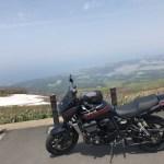 鳥海山ブルーラインをヒルクライム 高所恐怖症のバイク乗り、ビビる