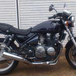 15年放置のゼファー400㏄ バイクタンクの錆取りをやった。