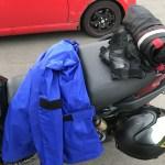 雨天のバイク走行を快適にする!お薦めグッズを選んでみた。