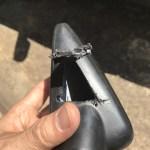 バイクのミラーを折ってしまったので、分解した(ダエグ純正ミラー)