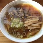 中華そば 八兵衛 横手の喉ごし良い香娘麺(シャンコメン)が美味