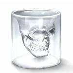 ショットグラス 酒を入れるとドクロ(スカル)が浮かぶ至福の一杯