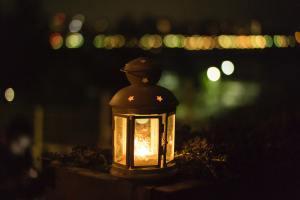 light and lantern