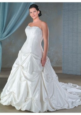 Plus Size Wedding Dresses http://www.thdress.com/cheap-hot-sell-casual-plus-size-wedding-dresses-p2745.html color: any color is available from our color chart size: any standard size or custom size closure: can be with corset or zipper closure hemline: can be short or floor-length