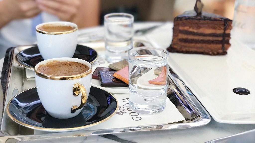 the differences between Turkish coffee caffeine vs. regular coffee