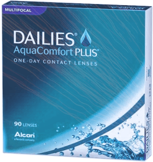 DAILIES AQUA COMFORT PLUS MULTIFOCAL 90 PACK - Dailies Aqua Comfort Plus Multifocal (90 lenses/box)
