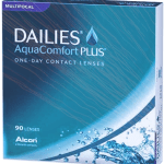 DAILIES AQUA COMFORT PLUS MULTIFOCAL 90 PACK - Dailies Aqua Comfort Plus Multifocal (90 lenses/box)