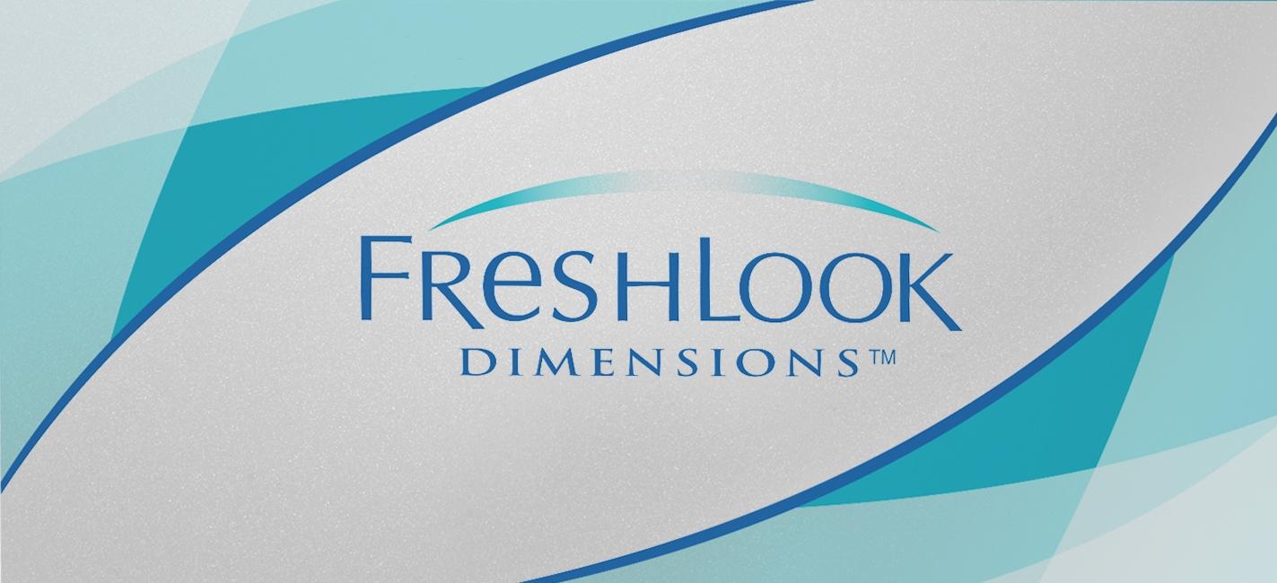 FRESHLOOK DIMENSIONS MONTHLY 2 PACK - Freshlook Dimensions (6 lenses/box)