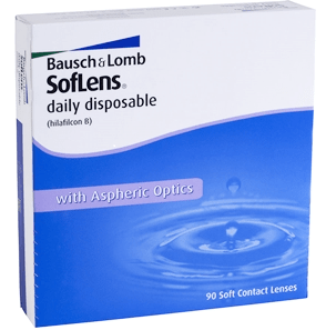 SOFLENS DAILY DISPOSABLE 90 PACK - Soflens Daily Disposable