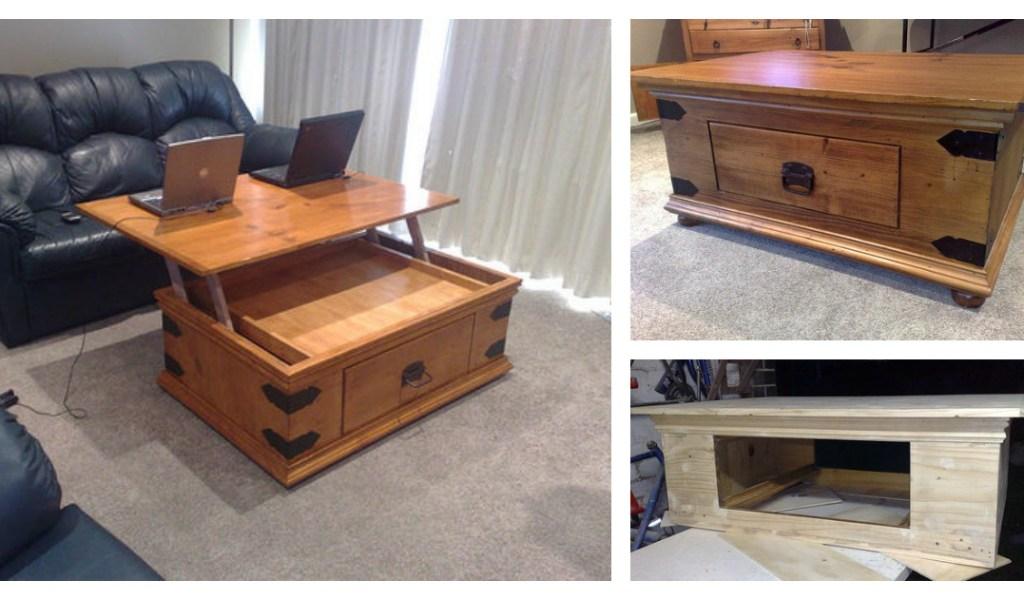 Lift Top Coffee Table Diy.Lift Top Coffee Table Diy Home Garden Improvement Design
