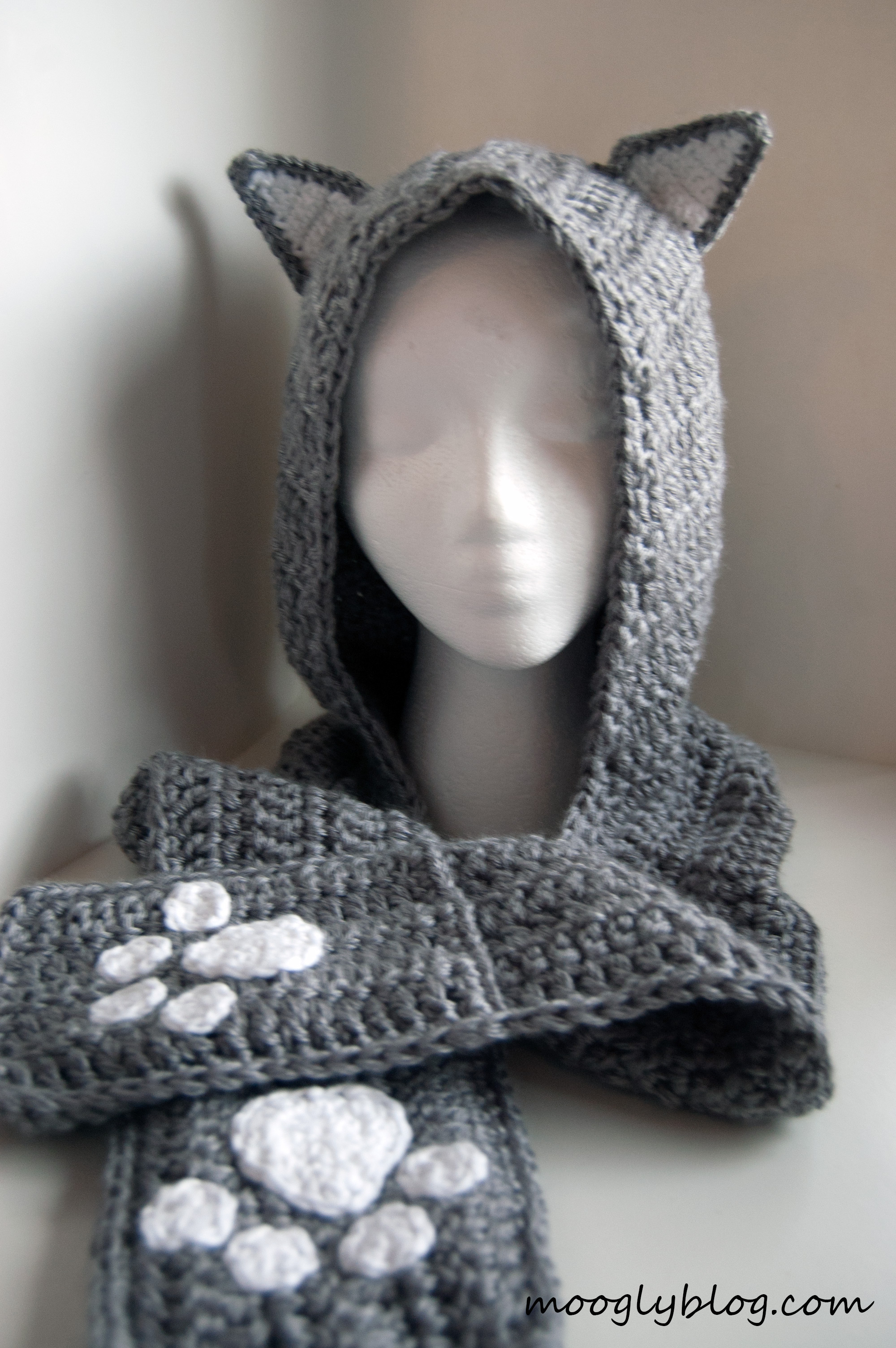 10 Crochet Hooded Scarves And Cowls Patterns