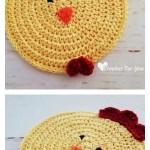 Chicken Potholder Free Crochet Pattern Cool Creativities