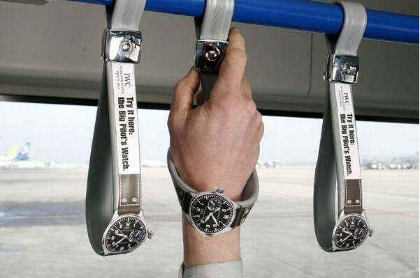 Clever Ad for watches