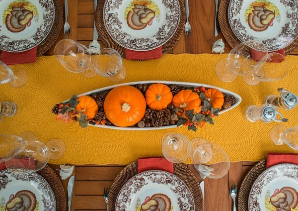Thanksgiving Table Center