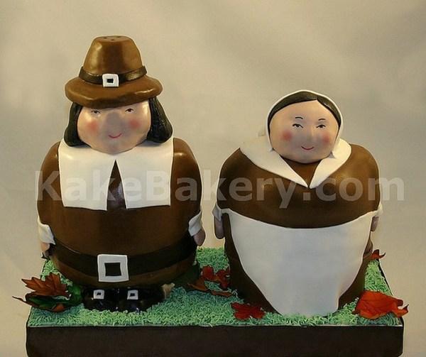 Thanksgiving_Pilgrim_Cake