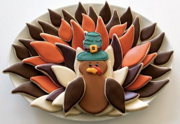 turkey-cookie-platter
