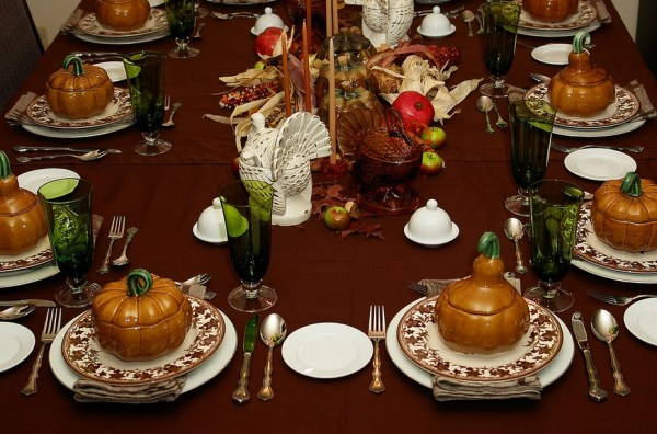 Wonderful table setting