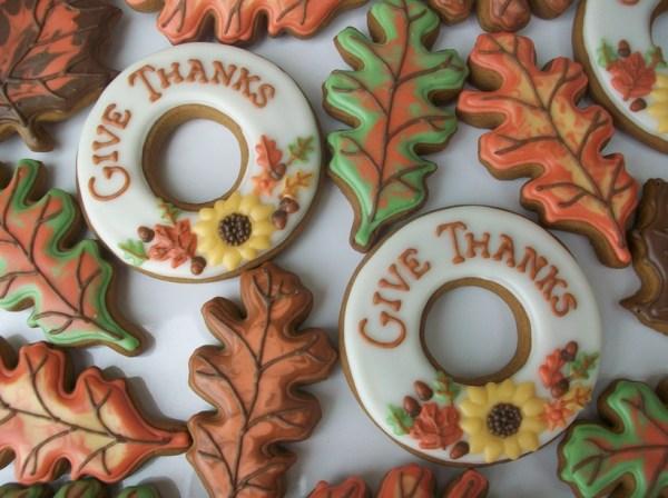 circle cookies