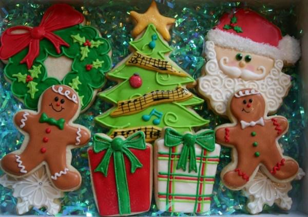 Christmas Cookies for the Band Teacher