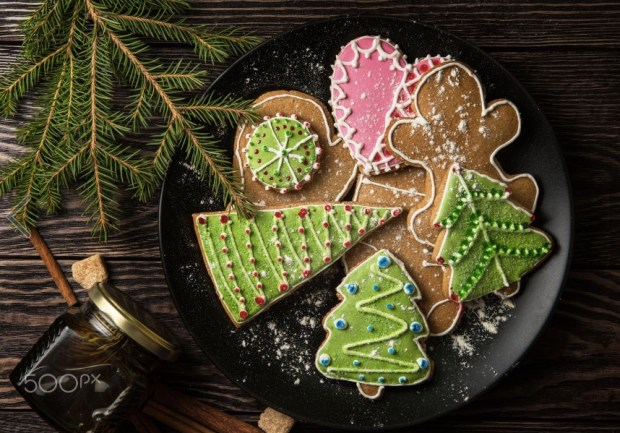 new-year-homemade-gingerbread