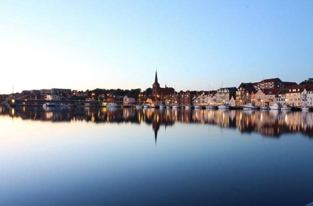 Sønderborg landscape reflection
