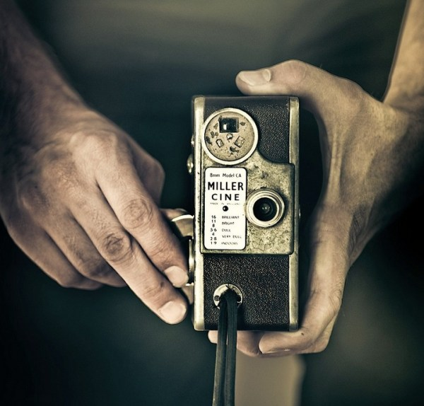 Vintage Camera Hands Photography
