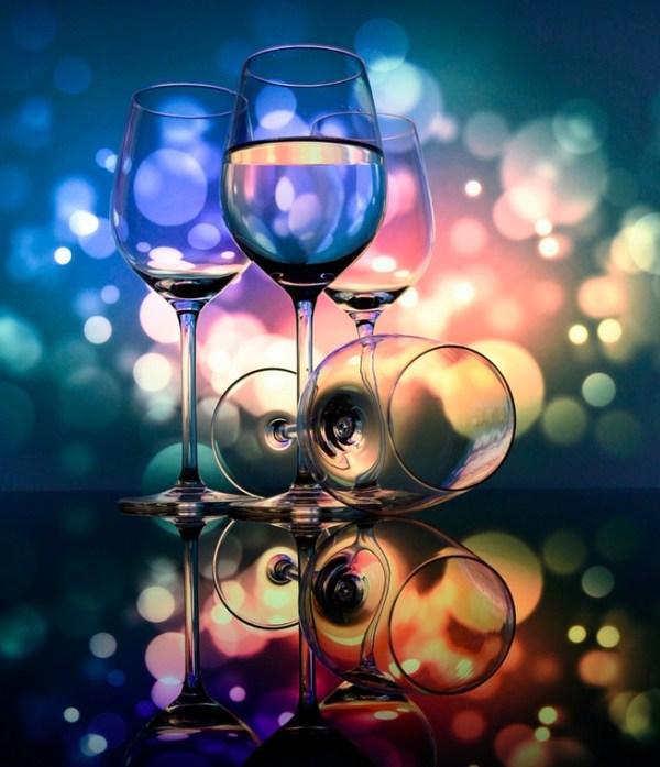 Throug the glass