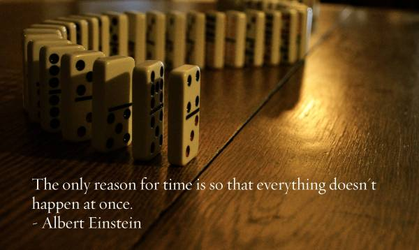 the only reason for time