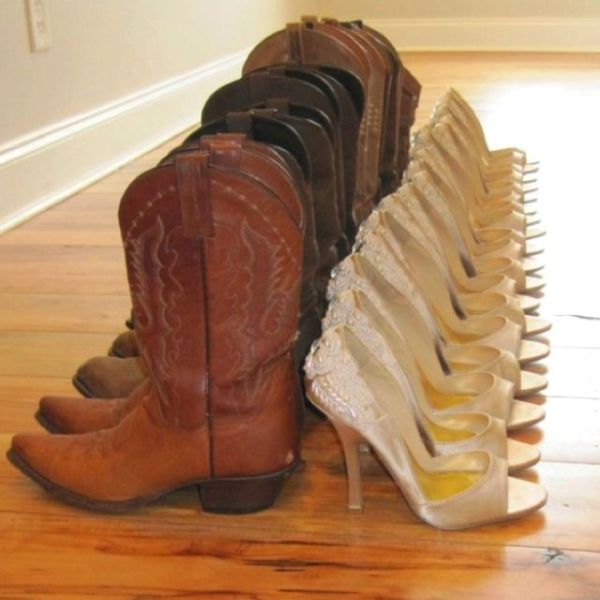 Bridesmaids' ceremony heels & reception boots
