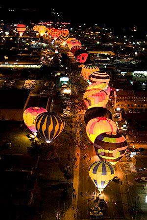 Hot Air Balloon Regatta - Page, Arizona