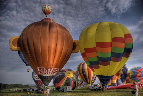 Jersey Boys Balloon by Bob Jagendorf