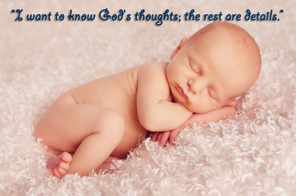 God's thoughts