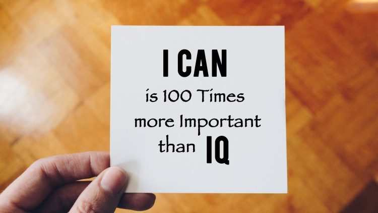 I can is hundred times more better than IQ