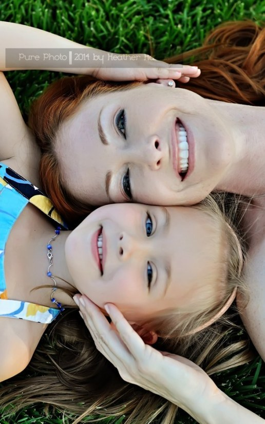 faces close together photo ideas for mother daughter