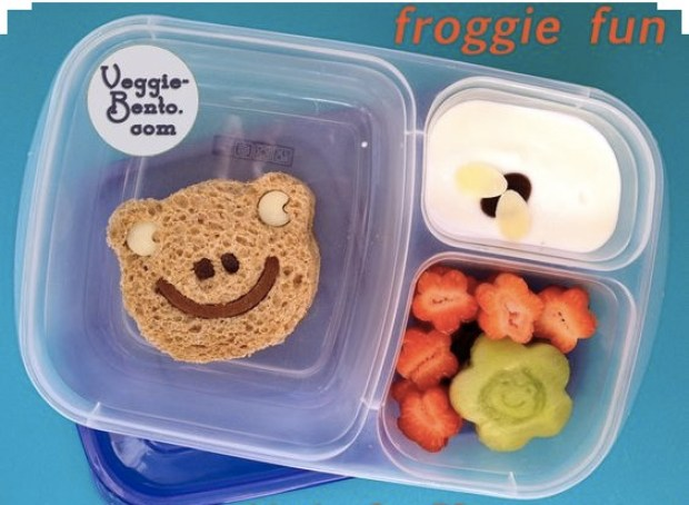 A teddy's smile lunch box