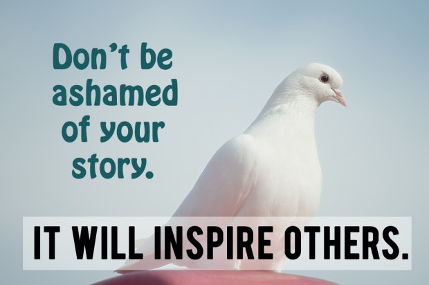 it will inspire others