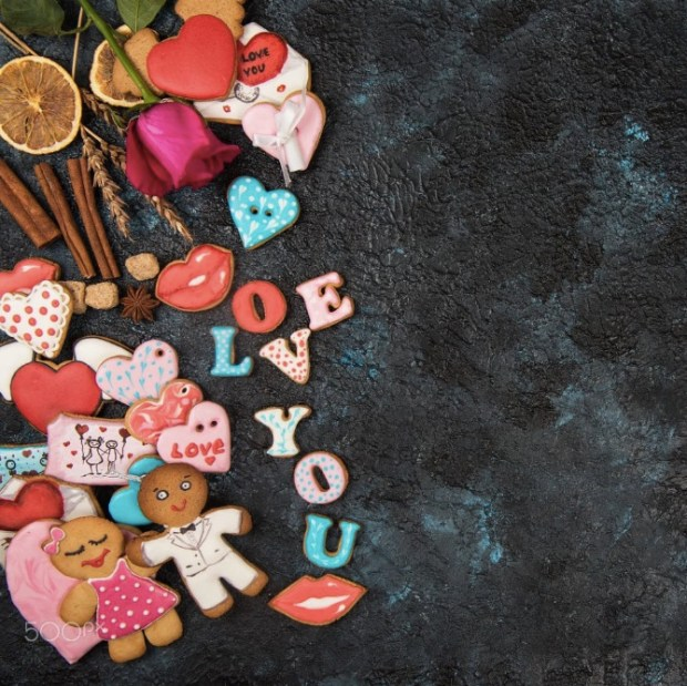 Gingerbreads for Valentines Day1