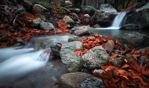 River on the magical mountain Di