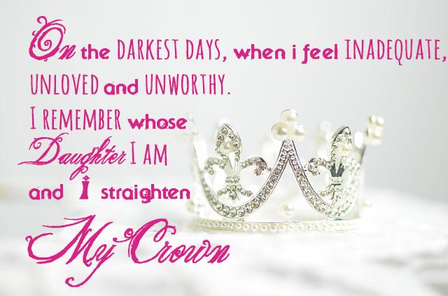 straighten my crown